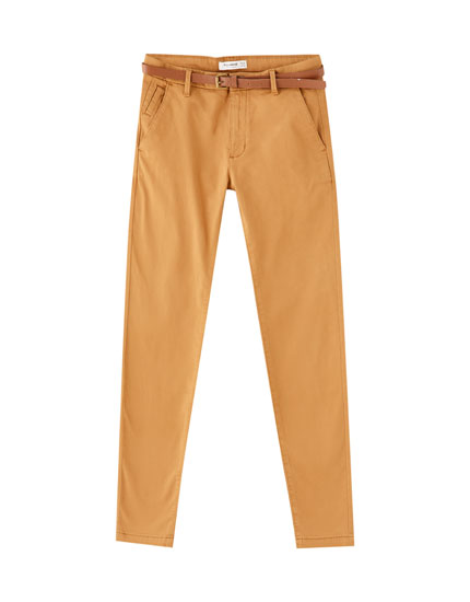 Basic coloured chinos
