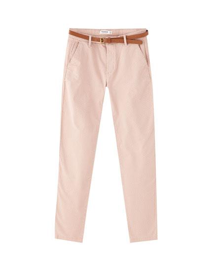 Pantalons xinesos bàsics color