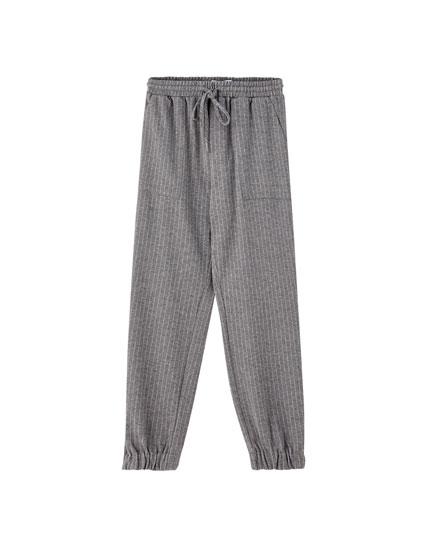 Pantalón jogging bajos elásticos