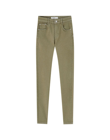 Pantalons push-up color