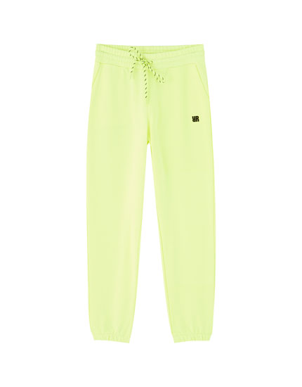 Rosalía neon trousers
