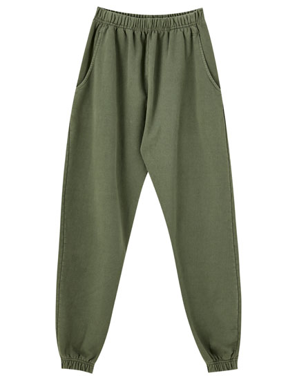 Pantalon basic jogging