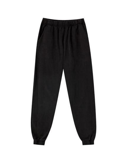 Παντελόνι basic jogging