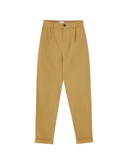 Pantalons xinesos sarja