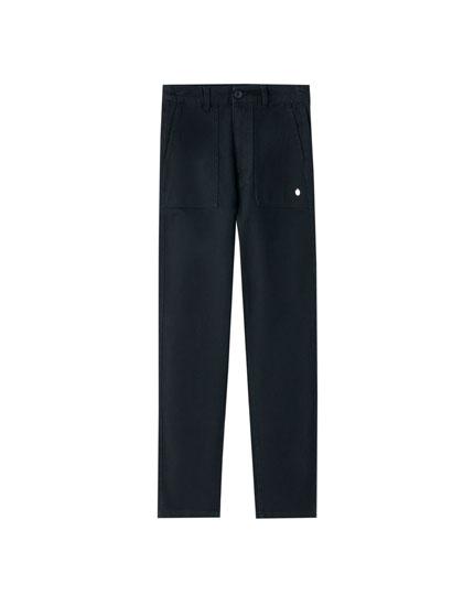 Pantalons denim de butxaques