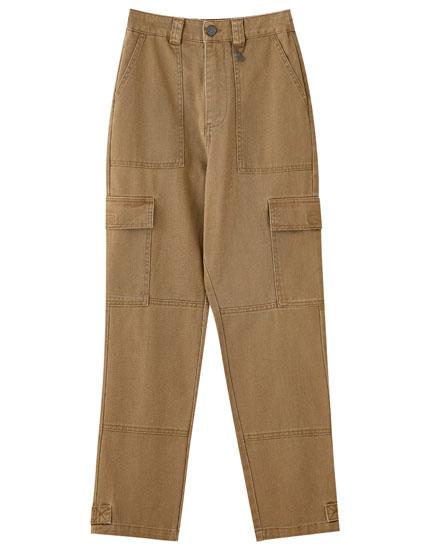 Pantalón bolsillos cargo