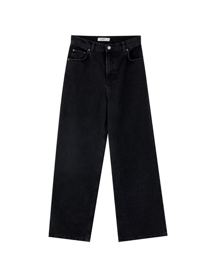 Basic coloured culotte jeans