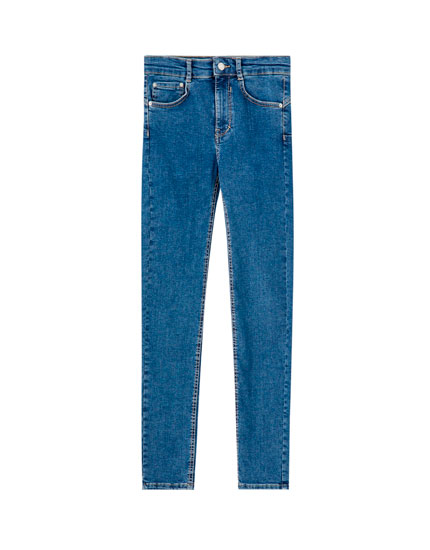 Basic push-up jeans