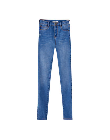 Super skinny stretch jeans
