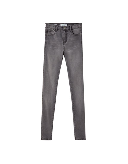 Coloured super skinny fit jeans