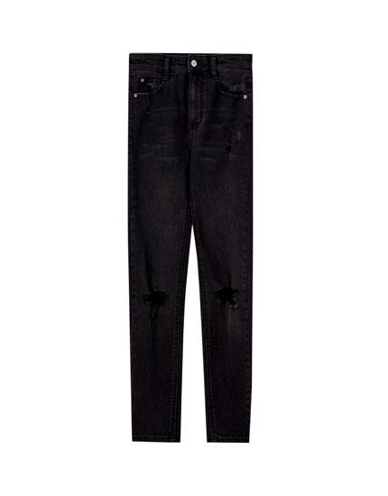 Skinny capri jeans
