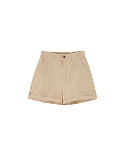 Basic cargo Bermuda shorts