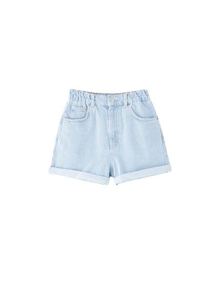 Bermudes texanes cintura elàstica