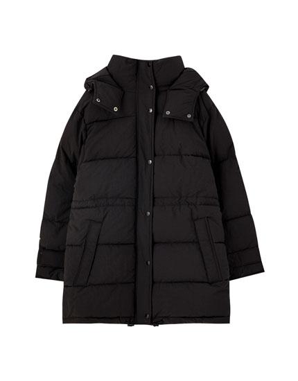 Lang, vatteret jakke