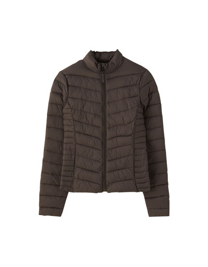 Tailored puffer jacket
