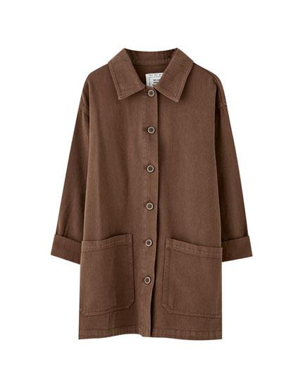 ebb2df1fb6 Todos os blusões e casacos de mulher   PULL&BEAR