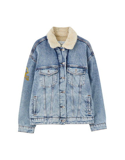UCLA x Pull&Bear denim jacket