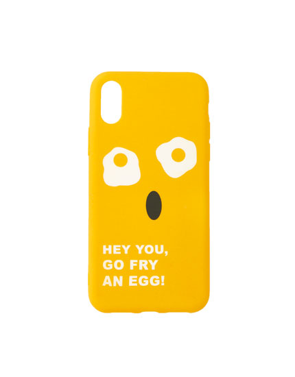 Coque smartphone œufs