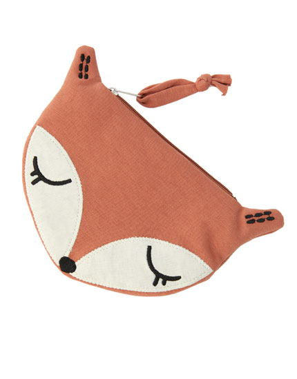 Coloured animal purse