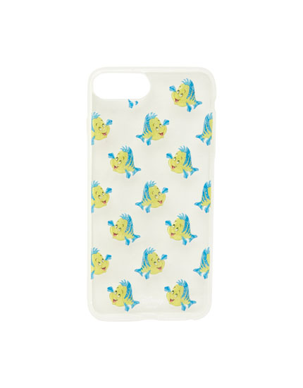Carcasa smartphone Sirenita pez
