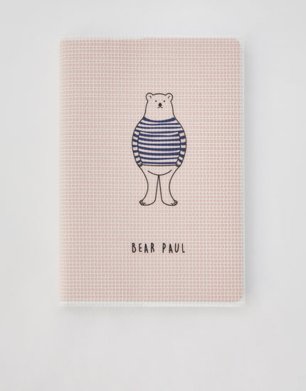 """Bear Paul"" notebook"