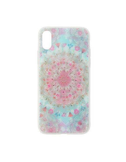 Iridescent smartphone case