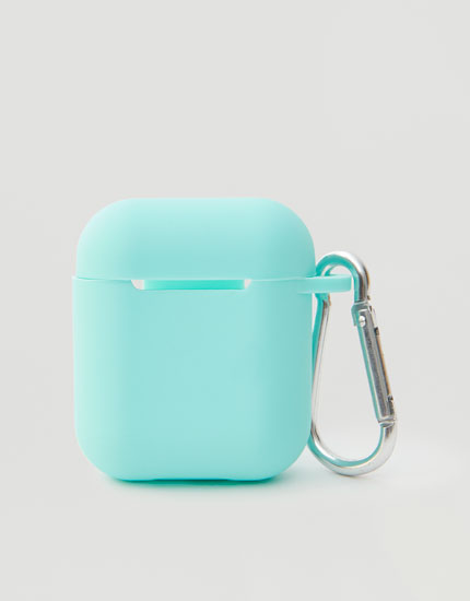 Silicon AirPods case in different colours
