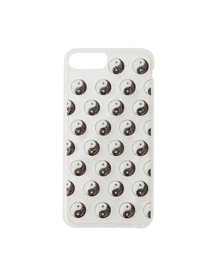 Carcasa smartphone Yin Yang