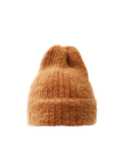 Soft-touch faux fur hat