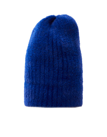 Soft-touch knit beanie