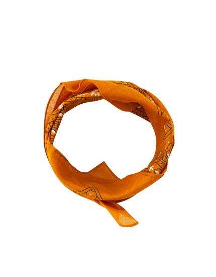 Κλασικό μαντήλι-μπαντάνα