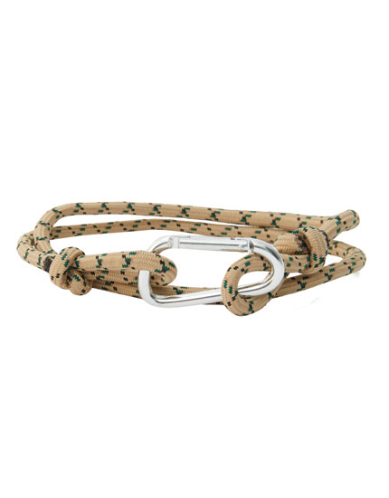 Cord belt with lobster clasp