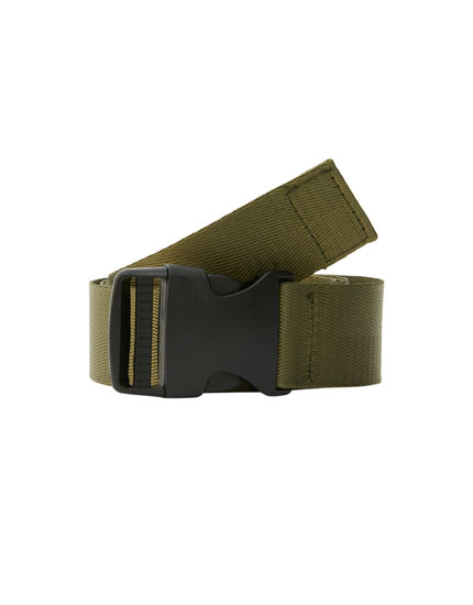 Buckled hiker belt