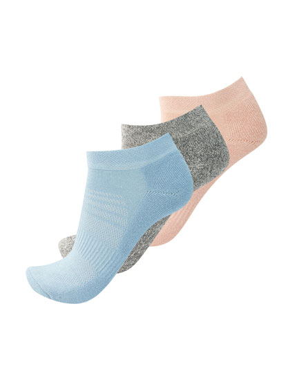 3-pack of soft ankle socks