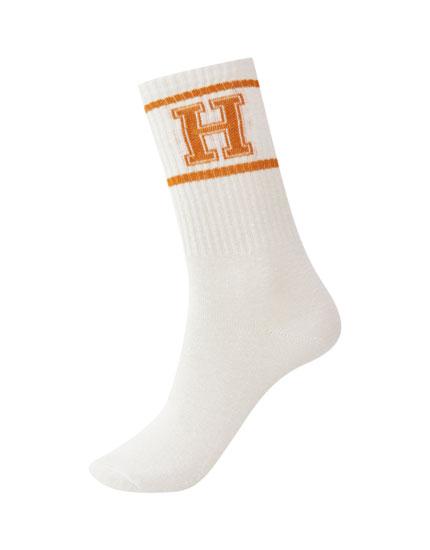 Varsity high socks
