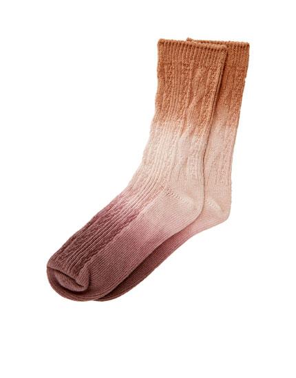 Calcetines tie-dye