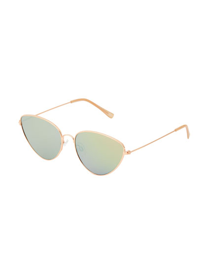 Gafas sol cat eyes rosa