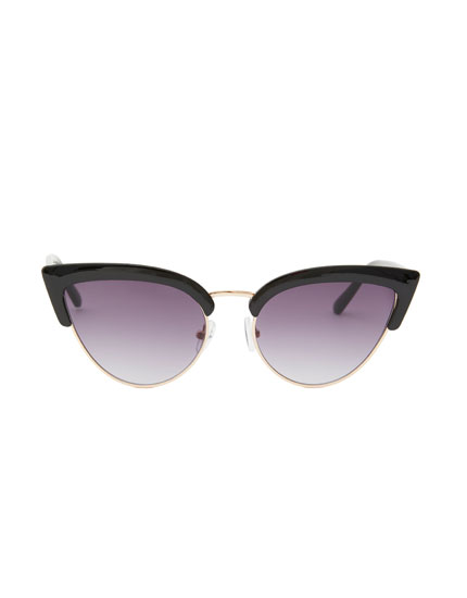 Gafas de sol cat eye superior
