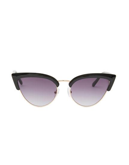 Gafas de sol cat eye superior