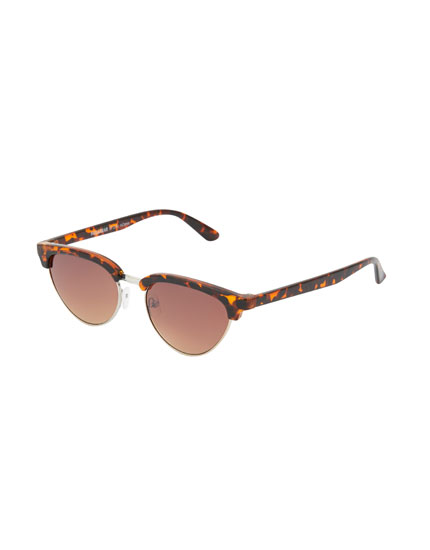 Gafas sol carey media montura