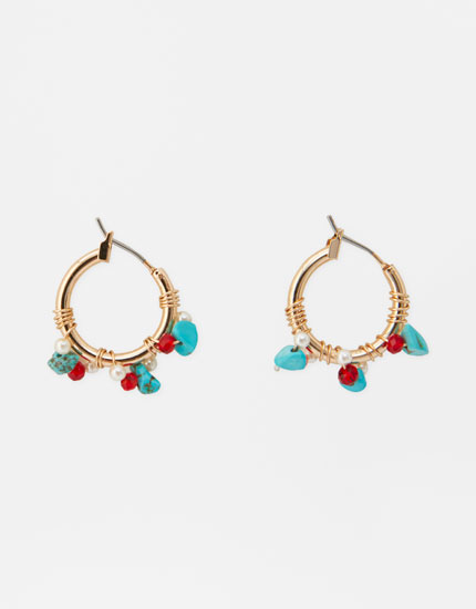 2-pack of turquoise earrings