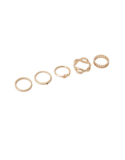 5-pack of chain rings