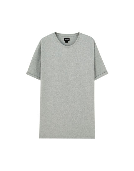 T-shirt basic long fit