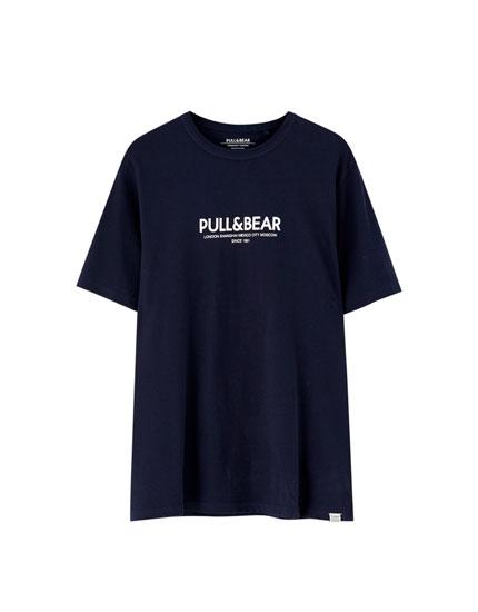 Samarreta logotip Pull&Bear ciutats