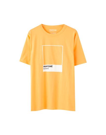 T-shirt med Pantone-logo