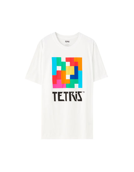 Multicoloured Tetris T-shirt