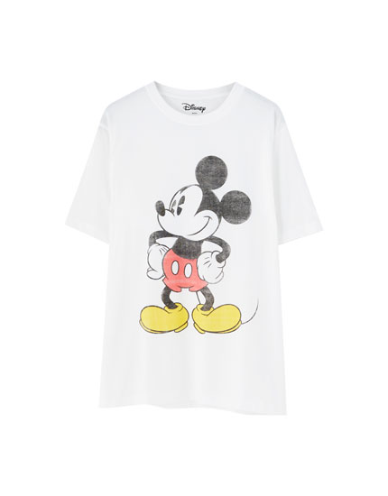 Camiseta Mickey Mouse básica
