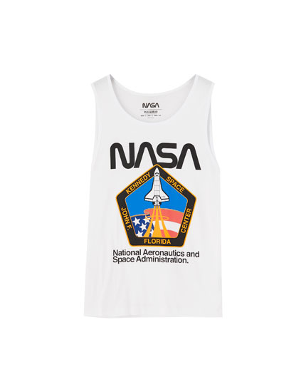 Camiseta NASA tirantes