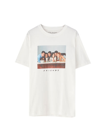 Friends T-shirt in white