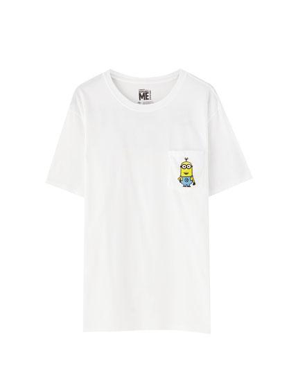 T-shirt Les Minions poche